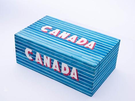 CANADA shoe box
