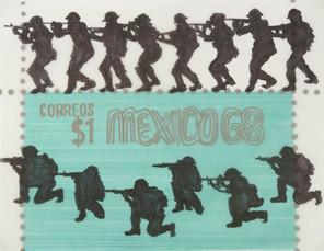 Boceto para Soldados, 1968