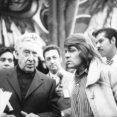 Inauguración del Polyforum Siqueiros, 1971