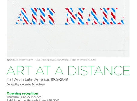 Art at a Distance - Humberto Márquez