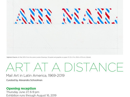 Art at a Distance - Humberto Márquez