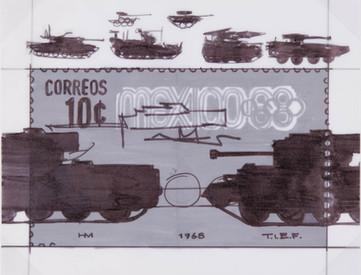 Boceto para Tanques, 1968