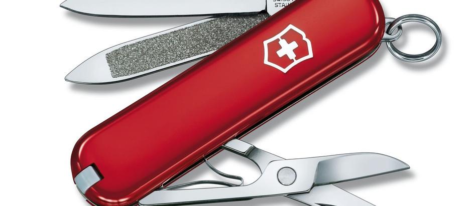 """É lecito portare con sé un """"coltellino svizzero"""" al di fuori della propria abitazione?"""