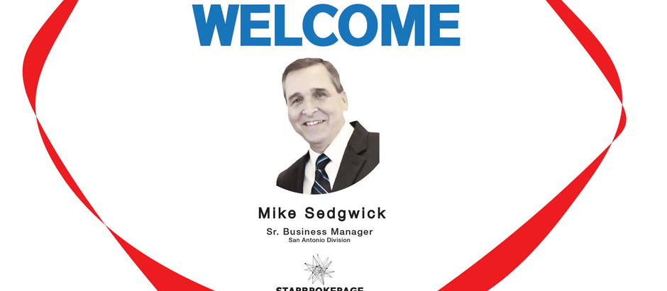Welcome Mike Sedgwick!