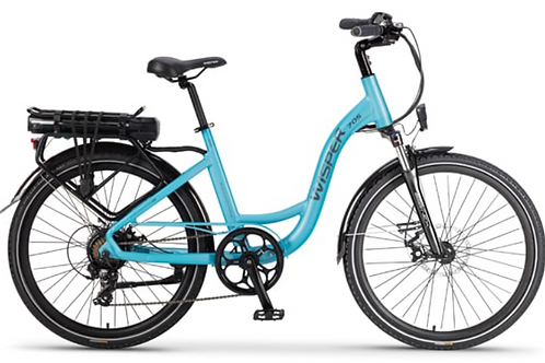 """WISPER 705 26"""" RIM STEP THROUGH EBIKE 375WH (Available Early June)"""