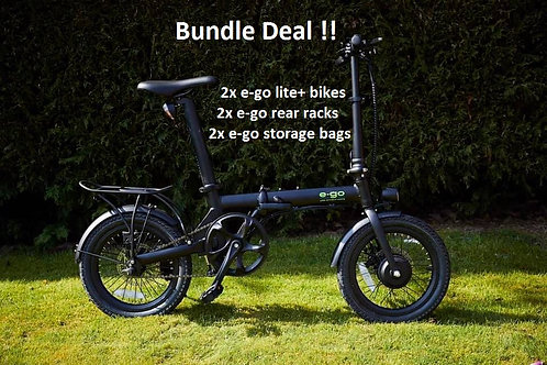BUNDLE DEAL !! E-GO LITE+ BIKES