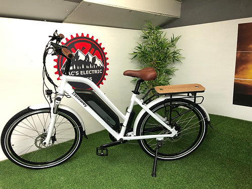 HIMIWAY LOW STEP EBIKE WHITE 18.2AH BATTERY