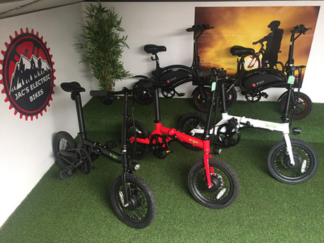 Quite possibly two of the best electric folding bikes on the market under £750.00 ..