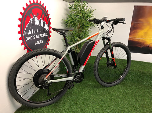 """19"""" CUBE ATTENTION 29 52V 2000W PERFORMANCE EBIKE"""