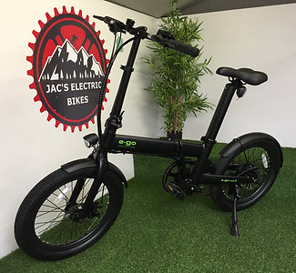 E-GO MAX 36V FOLDING ELECTRIC BIKE AVAILABLE IN BLACK / RED / WHITE