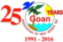 25  Years of Service - Goan Associaion of New Jersey Inc - 1991 - 2016