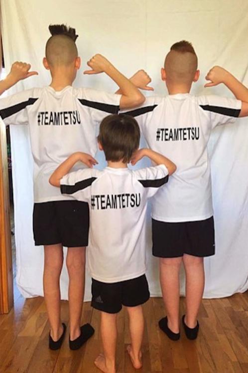 TeamTetsu T-Shirt: Kids/Adults