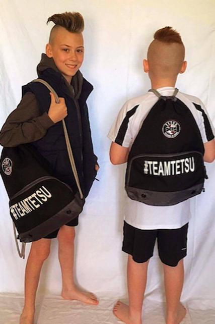 TeamTetsu Drawstring Backpack
