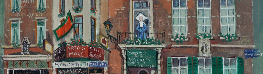 150, rue Haute à Bruxelles | 150, Hoogstraat te Brussel