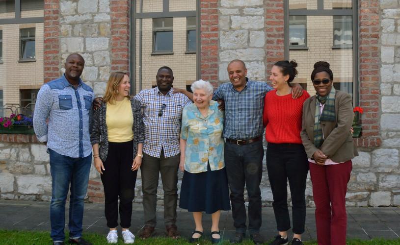 L'équipe sociale & Soeur Catherine | Het sociale team & Zuster Catherine