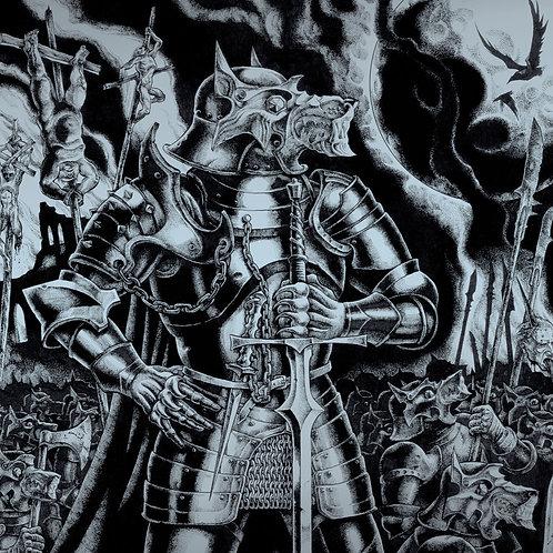 Absurd / Pantheon – Wolfskrieger / Galdur Vikodlaks  (LP)