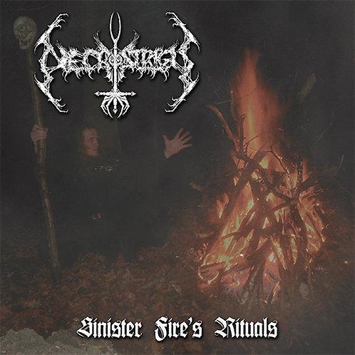 """Necrostrigis - Sinister Fire's Rituals  (7"""")"""