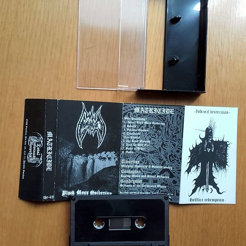 Matricide - Black Mass Gathering  (Tape)
