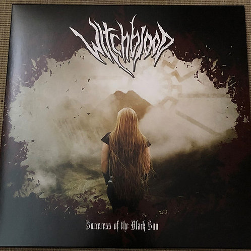 Witchblood ‎– Sorceress of the Black Sun  (CD)