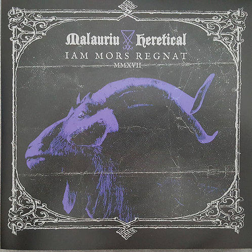 "Malauriu / Heretical Split  (7"")"