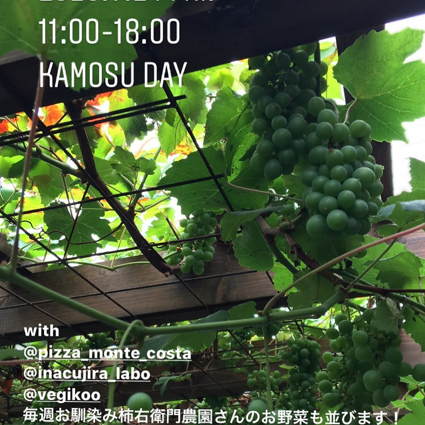 KAMOSU DAY 2020 07 24 11:00~18:00