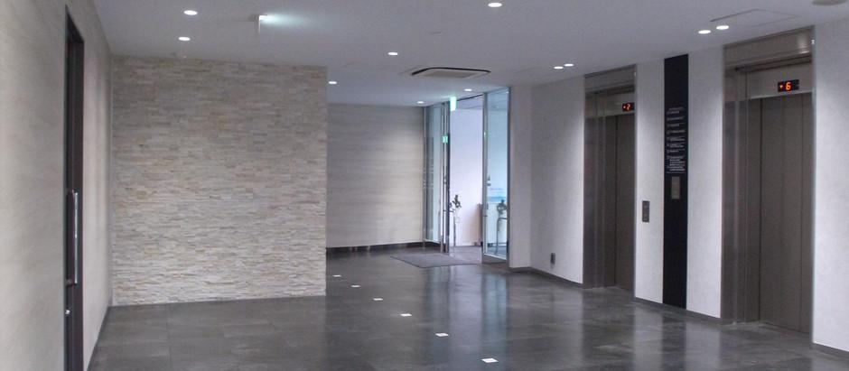 ビル エレベーターホール改修
