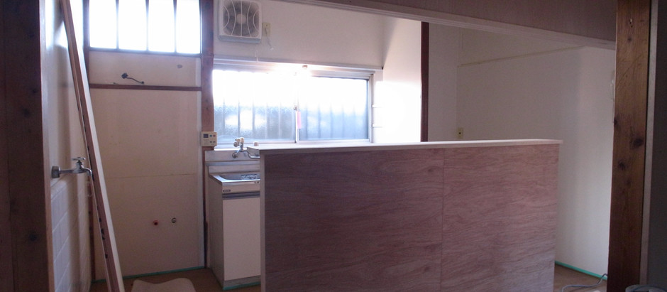 新事務所改装工事 内装がもうすぐ終了