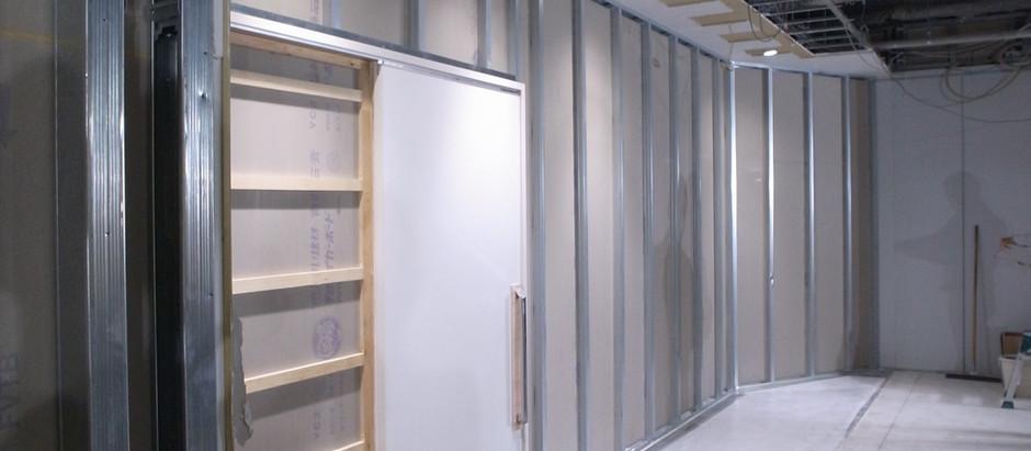 EVホール・稲村ガ崎リノベーション外壁納まり確認