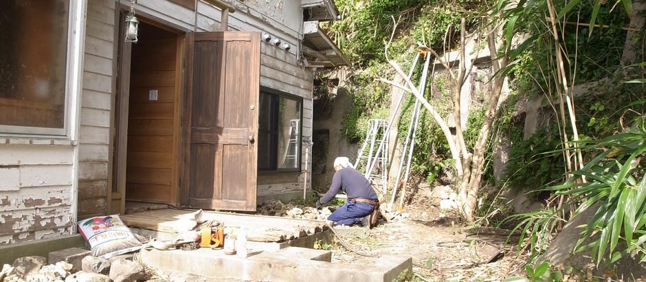 稲村ガ崎リノベーション 移植完了