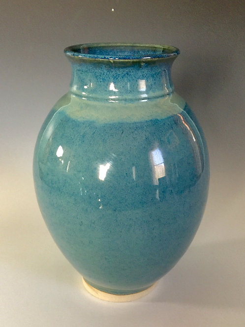 Floating Blue Vase