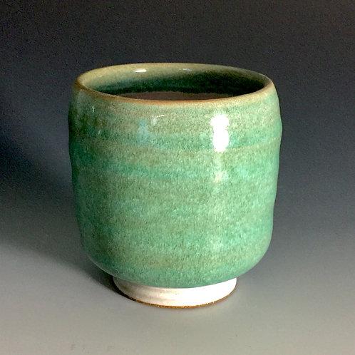 Green Stoneware Teabowl