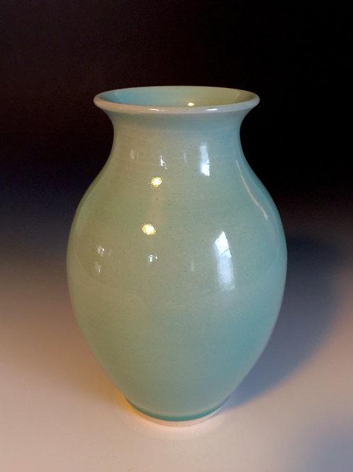 Turquoise Celedon Porcelain Vase