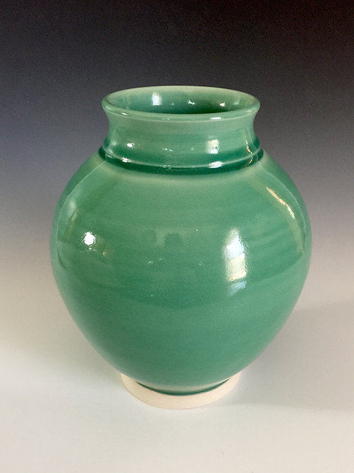 Green Porcelain Vase