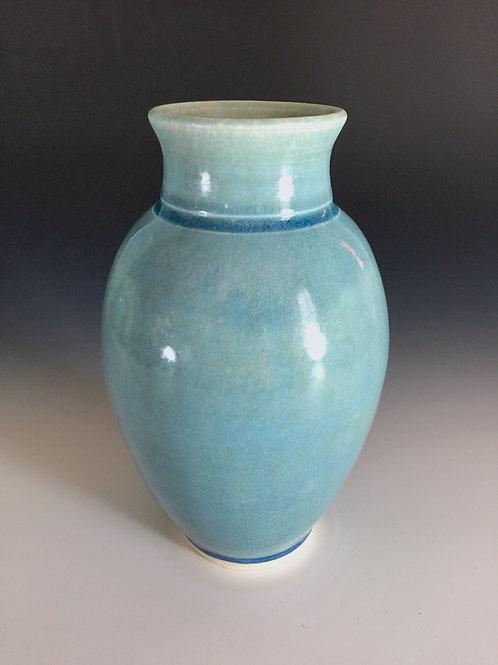 Blue porcelain vase