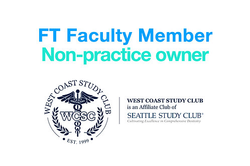 Full-Time University Faculty Membership
