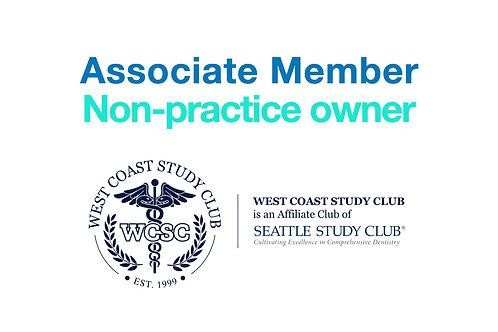2020-2021 Associate Dentist Membership