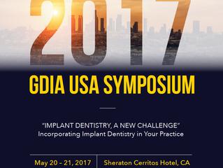 Dr. Jin Kim & Dr. Tony Daher chairs 2017 GDIA USA Symposium