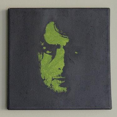 Syd Barrett Portrait — 20 x 20 cm. (original)