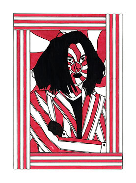 JACK WHITE — 28 x 38 cm. Print