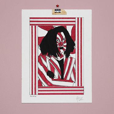JACK WHITE — 23 x 30 cm. (original)