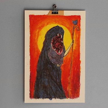 GRAND MAGUS print, 18 x 28 cm.