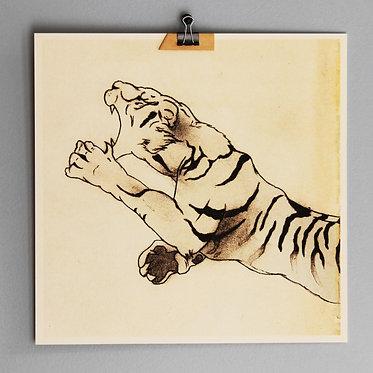 虎 2011 print, 27 x 27 cm.