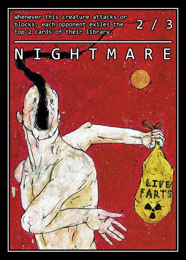 /148 - 168 NIGHTMARE
