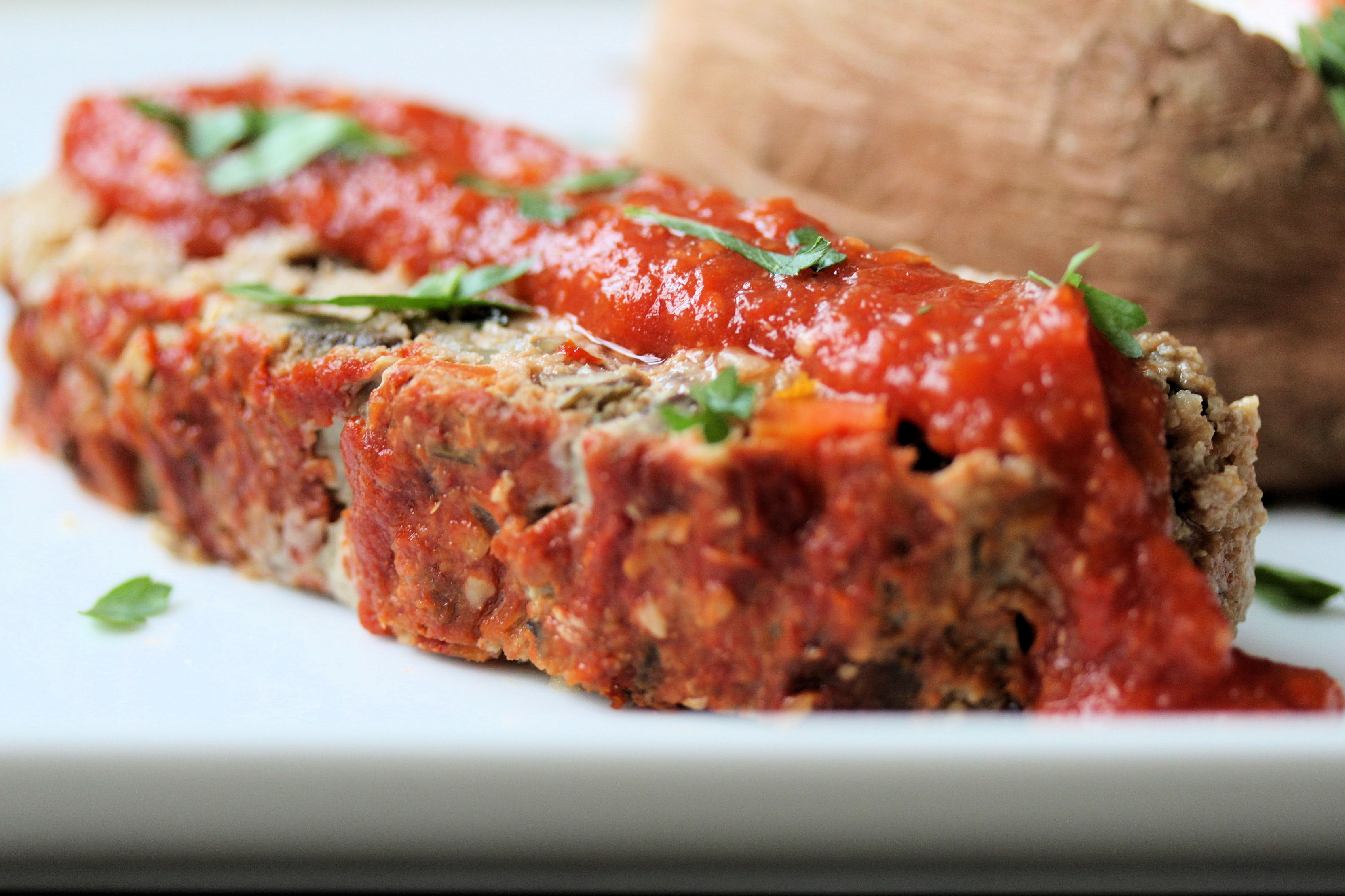 Turkey Meatloaf w/ Mashed Potatoes