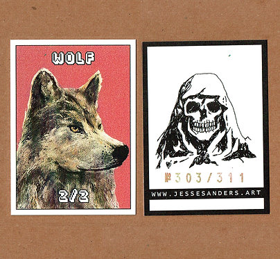 MTG Wolf Token