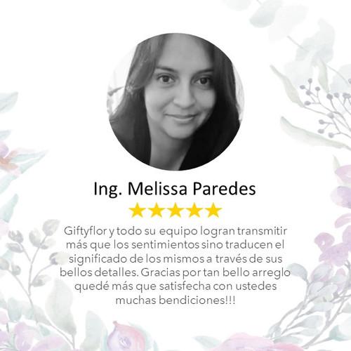 Opinion Melissa Paredes, mejor floreria
