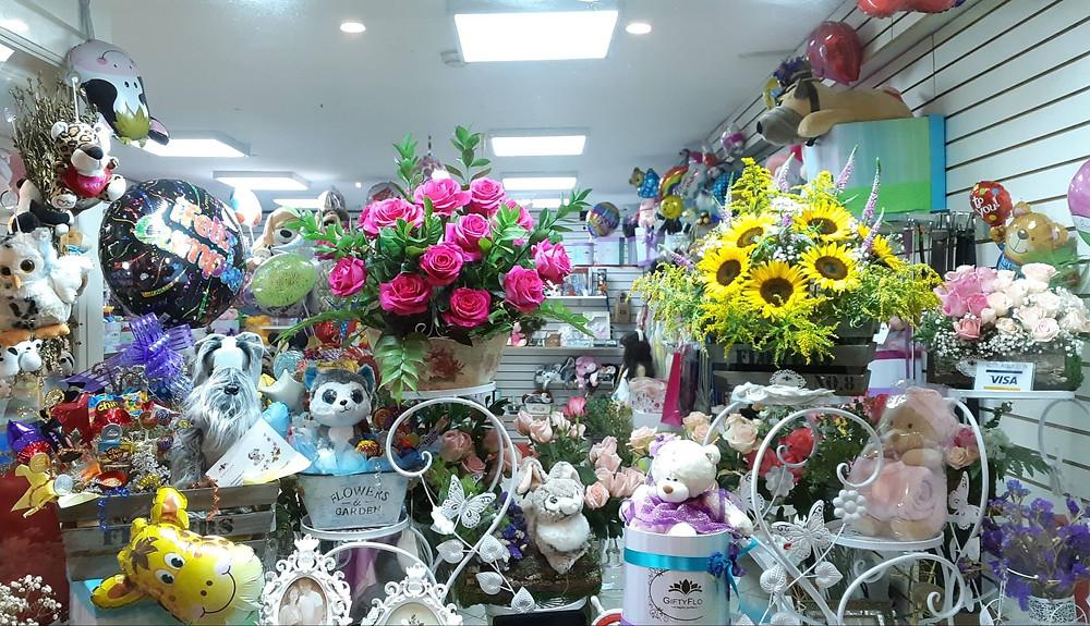 Florerias en Lima, Tienda de flores