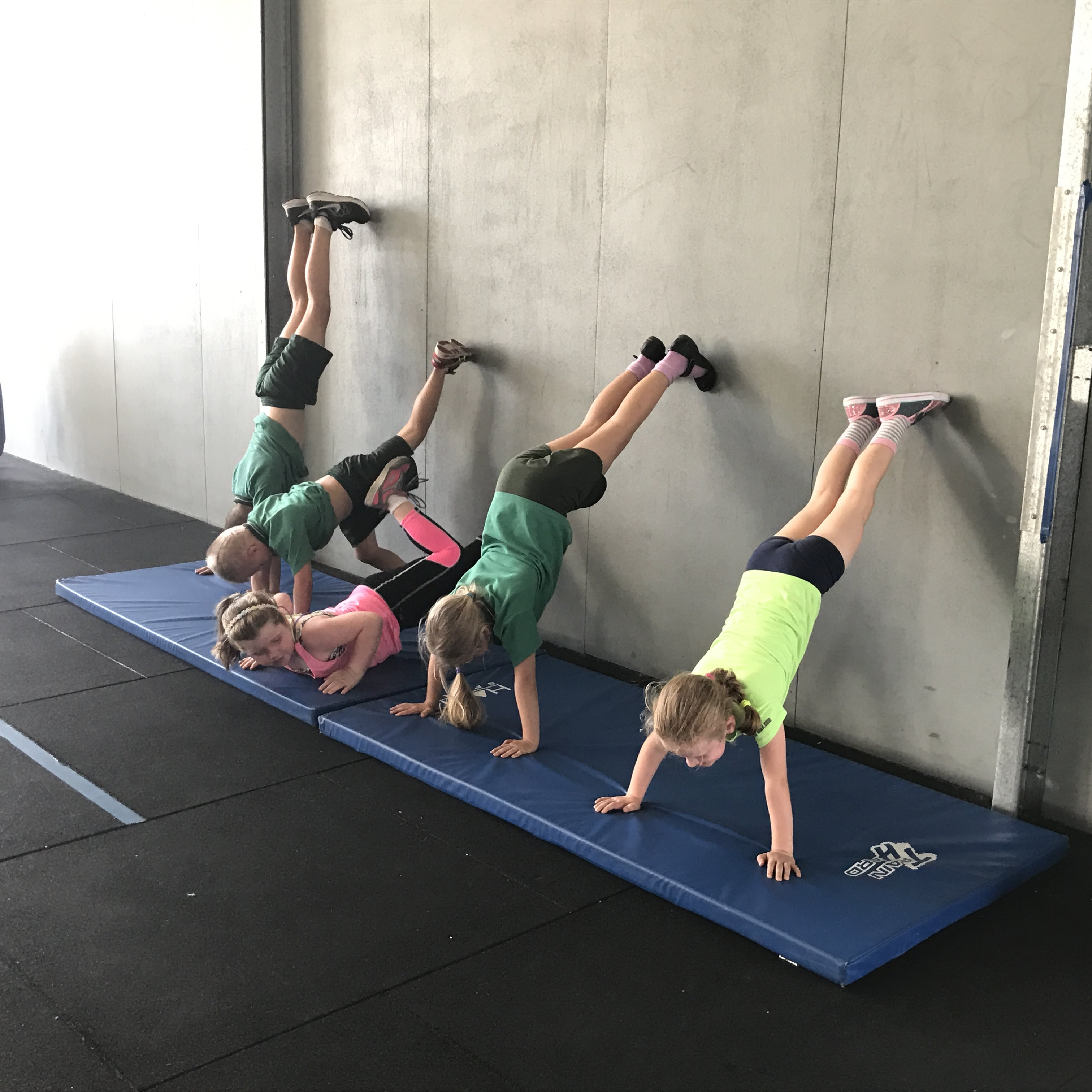 CrossFitKids Wall Walks
