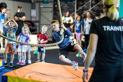 CrossFit Kids Rope Swing