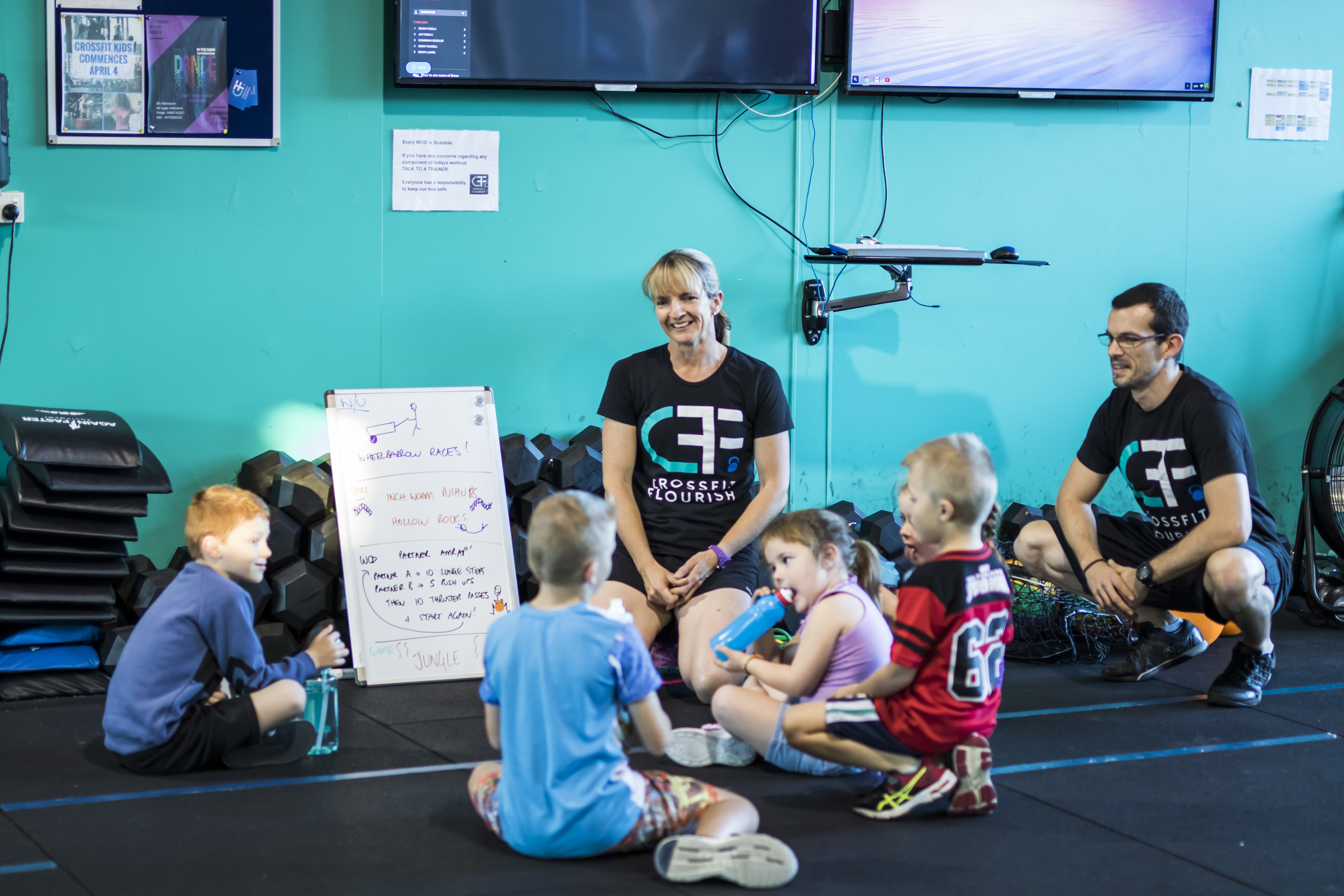 CrossFit Kids Class Briefing
